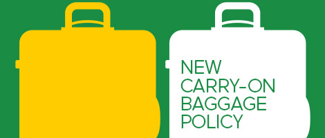New carry-on baggage policy